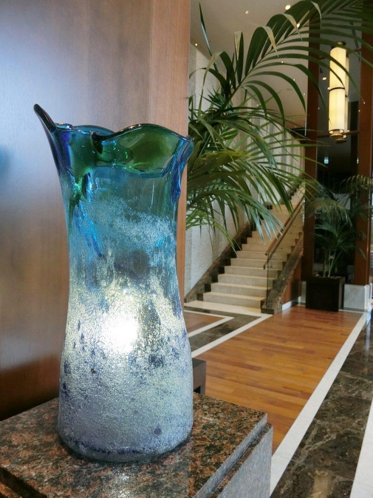 琉球ガラスのオブジェ