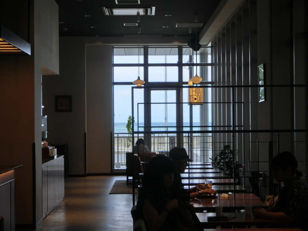 サンエーパルコシティの上島珈琲店内