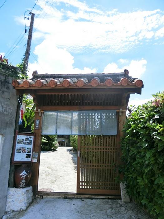 琉球料理ぬちがふぅ入口