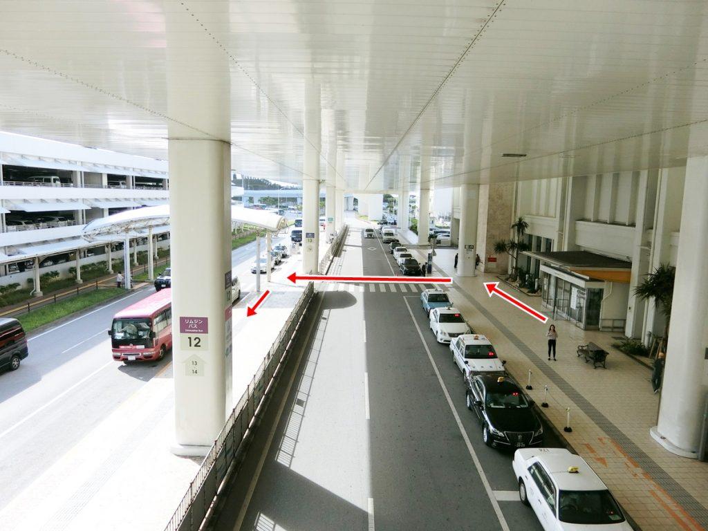 那覇空港リムジンバス乗り場