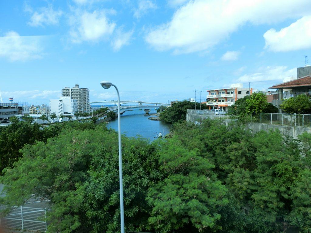 空港リムジンバスからの景色