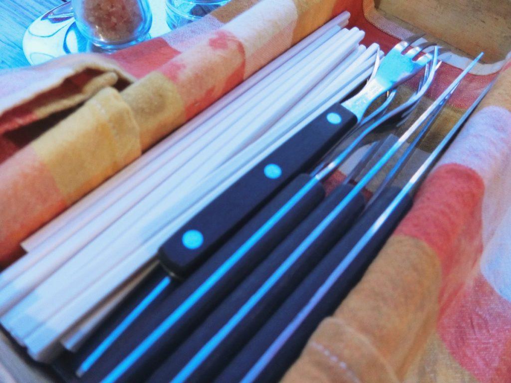 割り箸とフォーク・ナイフ